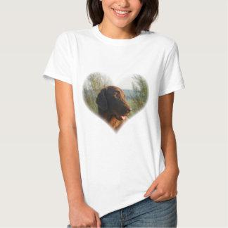 Flat Coated Retriever dog beautiful womens t-shirt