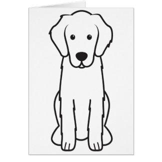 Flat-Coated Retriever Dog Cartoon Greeting Cards