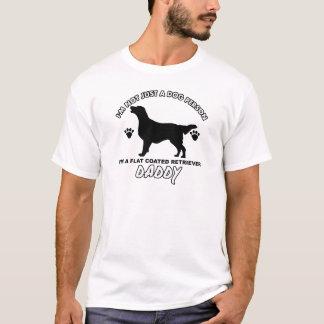 Flat Coated Retriever Dog Daddy T-Shirt