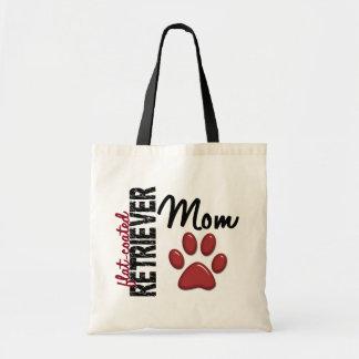 Flat-Coated Retriever Mom 2 Budget Tote Bag