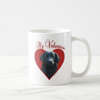 Flat-Coated Retriever My Valentine Basic White Mug