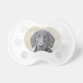 Flat-Coated Retriever Painting - Cute Original Dog Dummy