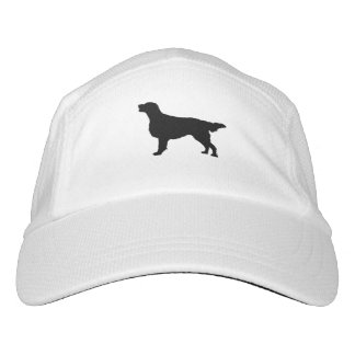 Flat-Coated Retriever Silhouette Love Dogs Hat