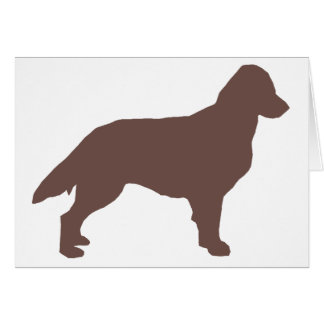 Flat-Coated Retriever silo color.png Note Card