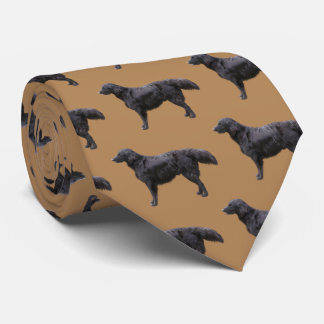 Flat-coated Retriever Tie