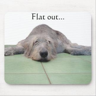 Flat Dog mousepad... Mouse Pad