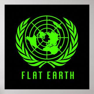 Flat Earth Big Poster