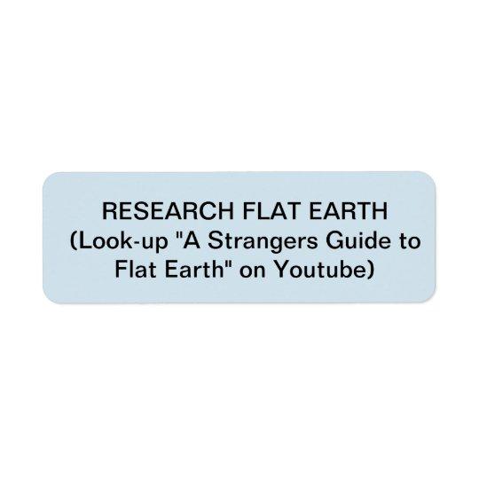 FLAT EARTH CIGARETTE LIGHTER STICKERS