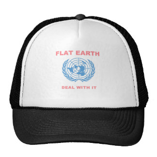 Flat Earth - Deal With It Cap