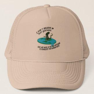 Flat Earth Debunked Trucker Hat