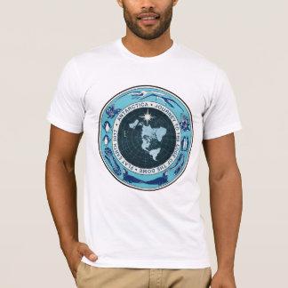 Flat Earth Designs - Antarctica Dome Journey T-Shirt