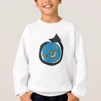 Flat Earth Designs - CAT MAP CLASSIC Sweatshirt