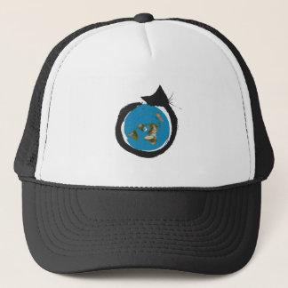 Flat Earth Designs - CAT MAP CLASSIC Trucker Hat