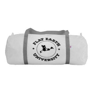 Flat Earth -- Gym Bag Gym Duffel Bag