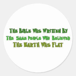 Flat Earth Historians Sticker
