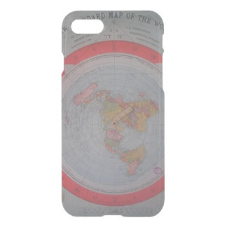 Flat Earth Map iPhone 8/7 Case