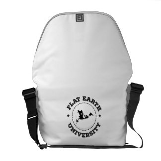 Flat Earth -- Messenger Bag