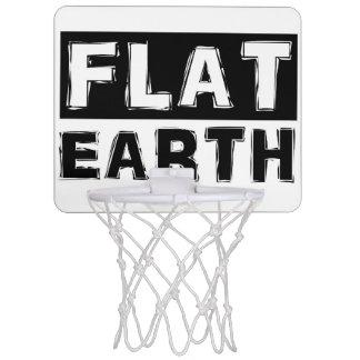 FLAT EARTH mini-basketball hoop
