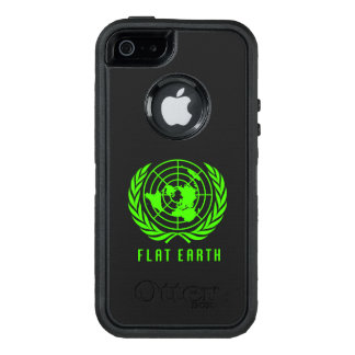 Flat Earth phone case