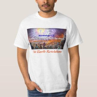 Flat Earth Revelation 1:7 T-Shirt