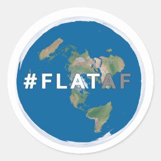 Flat Earth Sticker | #flataf