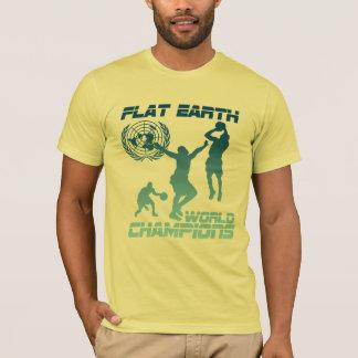 Flat Earth World Champions - FIRE T-Shirt