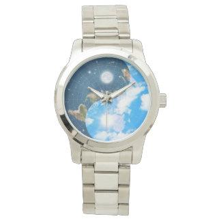 Flat Earth Yin Yang Watch - Men