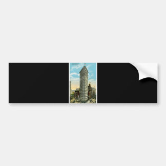 Flat Iron Building. Broadway and Fifth Ave. NYC Bumper Sticker