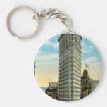 Flat Iron Building. Broadway and Fifth Ave. NYC Key Chain