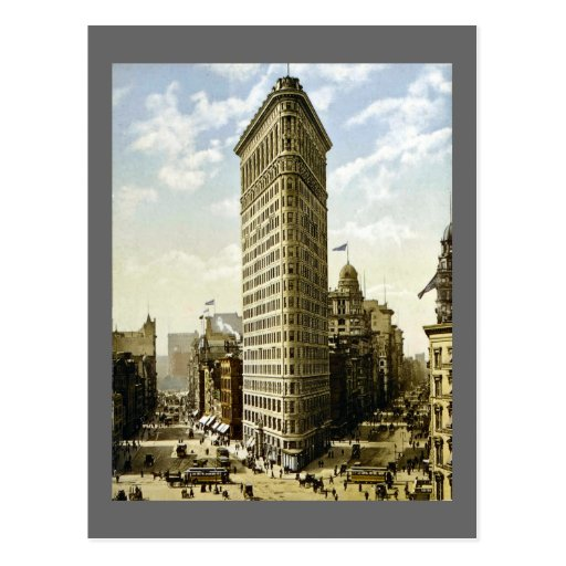Flat Iron Building New York City, NY 1903 Vintage Post Card