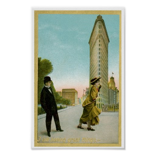 Flat Iron Building Posters