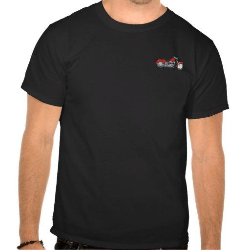 """""""Flat Out"""" Biker T-Shirt"""
