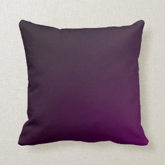 Flat Purple Crushed Velvet Plush Throw Pillow