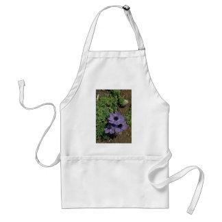 Flat Purple Flowers Aprons
