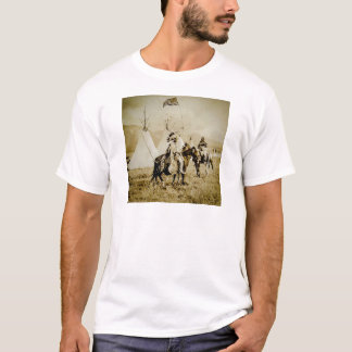 Flathead Indians Vintage Native American Warriors T-Shirt