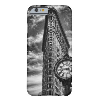 Flatiron Building and Clock in Black and White 1C2 Barely There iPhone 6 Case