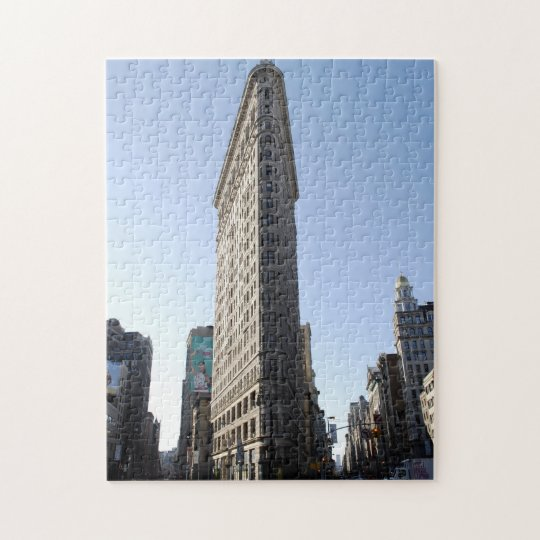 Flatiron Building Jigsaw Puzzle