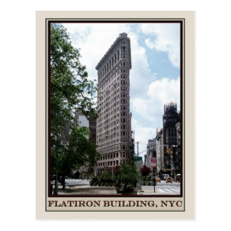 Flatiron Building, NYC Postcard