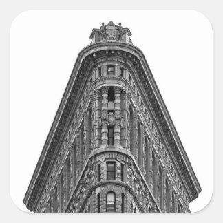 Flatiron Building Square Sticker