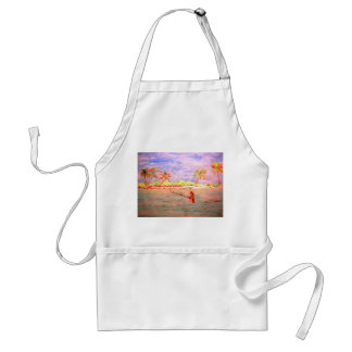 flats fly fishing girl aprons