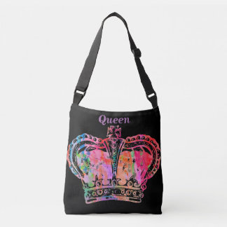 Flaunt Your Inner Queen Crossbody Bag