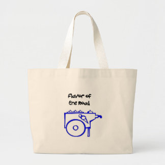 Flavor of the Road Jumbo Tote Bag