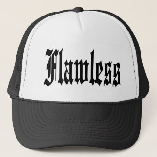 FLAWLESS TRUCKER HAT