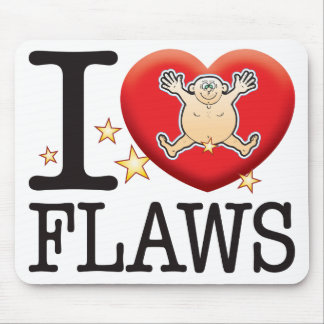 Flaws Love Man Mouse Pad