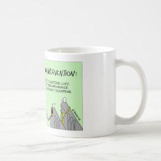Flea family holds an intervention basic white mug