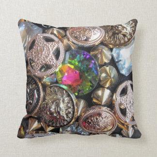 Flea Market Bling Pillows