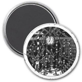 Flea Market II 7.5 Cm Round Magnet