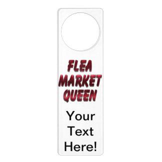 Flea Market Queen Red Door Hangers