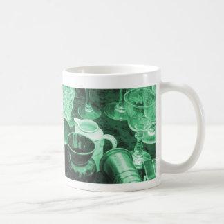 Flea Market Table Mug in Jade Green