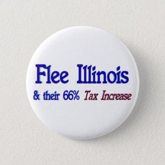 Flee Illinois 6 Cm Round Badge